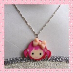 Arthwick Store A Collection of Toy Blocks in Rainbow of Colors Pendant Necklace