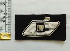 An Original Military RTR Tank Regiment Corps Bullion Cloth Formation Badge (4571