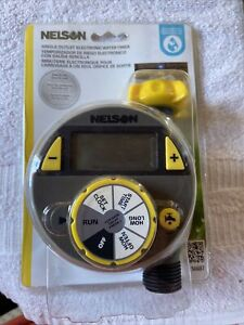 Nelson Single Outlet Electronic Water Timer