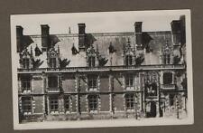 Old Postcard BLOIS France le Chateau Aile Louis XII RP photograph  (ref.CA 9a)