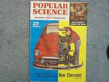 1953 POPULAR SCIENCE FEBRUARY  HOW TO BUILD A CABIN  UNDER THE HOOD OF A NEW CHE