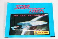 Panini Star Trek Le Next Génération (1987) 1 X Sac en Papier Paquet Bustina Rare