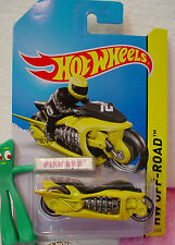 Case H 2014 i Hot Wheels FLY-BY motorcycle #119∞Yellow/Black;29∞Off-Road∞HW Moto