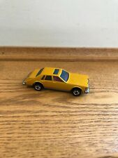 Hot Wheels Blackwall 1980 Yellow Cadillac Seville Near Mint Clean Example