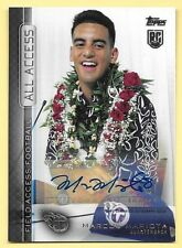 2015 Topps Field Access All Access #MM Marcus Mariota Rookie Autograph Insert