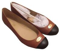 new Coach Ashley Leather Women's Flats Slip on Shoes 10 new