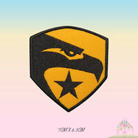 G I JOE Logo Super Hero Movie Embroidered Iron On Sew On Patch Badge