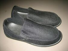 Crocs Mens Santa Cruz MS13A 11771 Slip On Loafer Shoes Black/Black, US 13