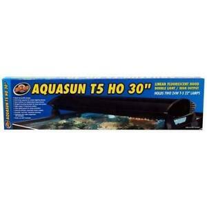 "AquaSun Dual T-5 HO Hood 30"" - ZooMed"