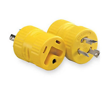 30 Amp Male to 30 Amp Female 3 Prong Twist Adapter GAP3030Y