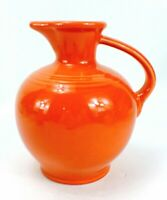 FIESTAWARE Persimmon CARAFE JUICE WATER Pitcher HOMER LAUGHLIN COMPANY