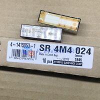 1PCS ORIGINAL NEW SR4M4024 Safety Relay 8A 24VDC 10 Pins