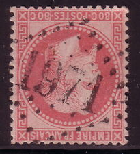 EMPIRE - N°32 - 80c ROSE - OBLITERATION GC1971 - LASALLE - GARD.