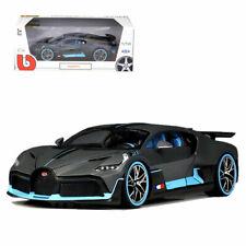 Bburago 1:18 Bugatti Divo Metal Diecast Model Roadster Car New in Box Gray
