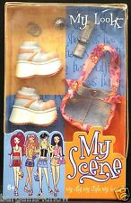 My Scene My Look Accessories Tennis Shoes Purse Jewelry Cell Phone NRFB