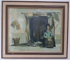 Öl Gemälde Abstrakt Frau Oil Painting antique excellente Künstlerarbeit