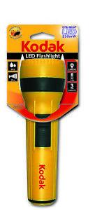 KODAK - Lampe LED 250mW - Jaune - Fonctionne avec 2 piles LR20/D non incluses-JA