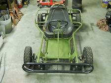 vintage fox go kart frame 1961 fox concessionaire rolling chassis
