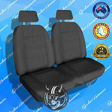 *NEW!* ELITE FRONT CAR SEAT COVER, HIGH QUALITY CHARCOAL JACQUARD, AIRBAG SAFE
