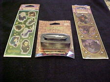 Harry Potter Lighting Paper Punch + 2 Packs With 4 Sheets Harry Potter Stickers