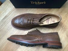 TRICKERS Brown Bourton Brogues, UK:12, EU:47, RRP £415!  NEW & BOXED