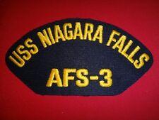 US Navy Patch USS NIAGARA FALLS AFS-3