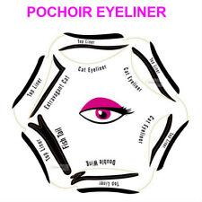 POCHOIR EYELINER EYE LINER 6 FORMES MAQUILLAGE YEUX CAT EYE  ACC802