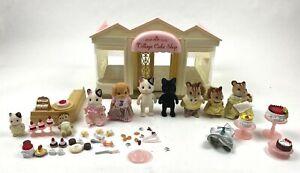 Sylvanian Families Calico Critters Village Cake Shop Lot
