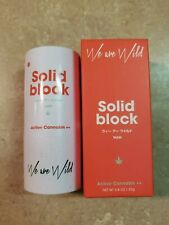 We Are Wild Solid Block Mineral Sunscreen Active Cannabis++ 23g