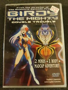 Birdy the Mighty - Vol. 1: Double Trouble (DVD, 2004)Anime, OOP - RARE - SEALED
