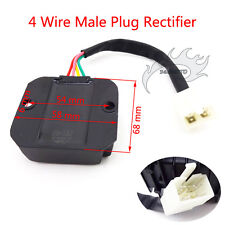 4 Pin Voltage Regulator Rectifier For GY6 50 125 150 cc Honda Motorcycle Scooter
