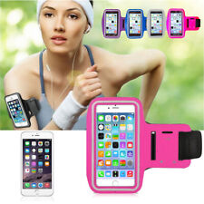 PINK GYM RUNNING SPORTS ARMBAND PHONE HOLDER FOR IPHONE SE 2020 11 Pro 8 / 7 / X