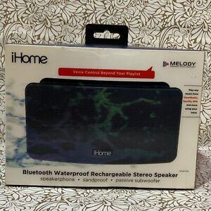 📀 iHome Bluetooth Wireless Outdoor Speaker Waterproof  -Black