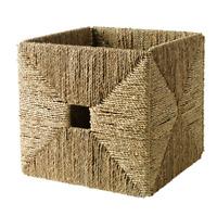 IKEA KNIPSA Korb Seegras 32x33x32cm Aufbewahrungsbox Box Kiste Kallax Organizer