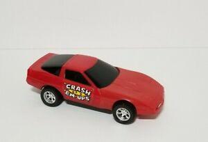 Vintage 1984 Buddy L Corp Crash Em Ups Red Corvette Car