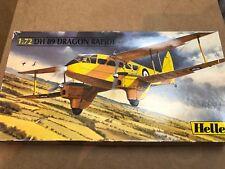 HELLER 1/72 80345 DH 89 Dragon Rapide VINTAGE MODEL KIT