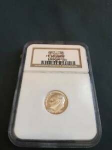 1957 Roosevelt 10C Proof 68 Cameo NGC Certified/ Graded