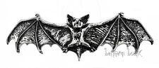 Goth : Alchemy Grande Barrette Chauve Souris Darking Bat Hair Slide Gothique