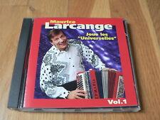 """Maurice Larcange joue les """"Universelles"""" vol.1 - CD Accordéon 1997"""