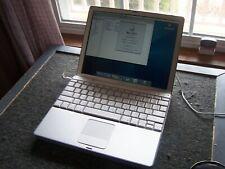 "Apple Macintosh PowerBook A1010 12.1"" Laptop 1.25Gb Ram 60Gb Hd Os 10.3.9"