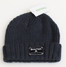 Burton Gray Knit Cuff Beanie Skull Cap Youth One Size NWT