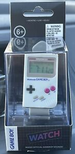 NEW Official Nintendo Gameboy WATCH Retro Digital Original GB Console Style