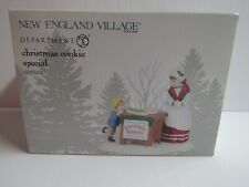 New ListingDept 56 New England Village Christmas Cookie Special 6003104
