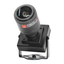 CCTV HD-AHD 2.0MP Zoom Lens 2.8-12mm Wide Angle Mini Box AHD CVI TVI CVBS Camera