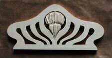 Holzkrone auf die UHR,Möbelkrone, handgeschnitzt, hohe Qualität, 37cm x 17cm