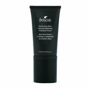 boscia Porefecting White Charcoal Mattifying Treatment Primer 40mL for Oily Skin