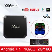 Lot X96 Mini Smart TV BOX S905W Quad Core 4K WiFi 2+16GB Android7.1 Media Player