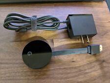 Google Chromecast (WNGOGA3A0403) Ultra 4K Media Streamer - Black