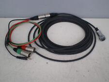 TW 20' (6m) abtrünnigen Schlange Kamera Mixer Kabel Sound Devices Shure PSC Sqn twelco