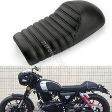 Motorcycle PU Leather Vintage Saddle Seat For Harley Honda Yamaha Cafe Racer